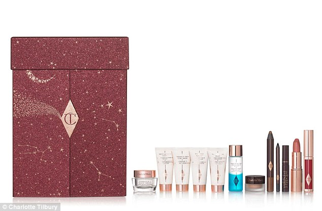 It's one of the pricier offerings, but Charlotte Tilbury's £150 advent calendar won't disappoint beauty fans with a range of mini and full-sized bestsellers including her iconic Pillow Talk lipstick. On sale from 4th October