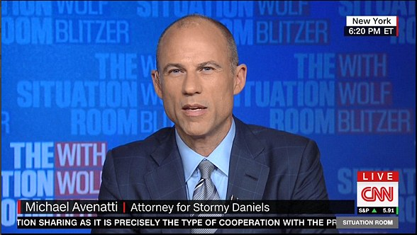 Avenatti (above) said Cohen's request and his testimony in court would allow him to sack Trump in a pending civil lawsuit filed by Daniels against Cohen
