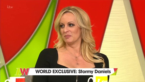 Stormy Daniels (on Loose Women on Monday) beat Cohen