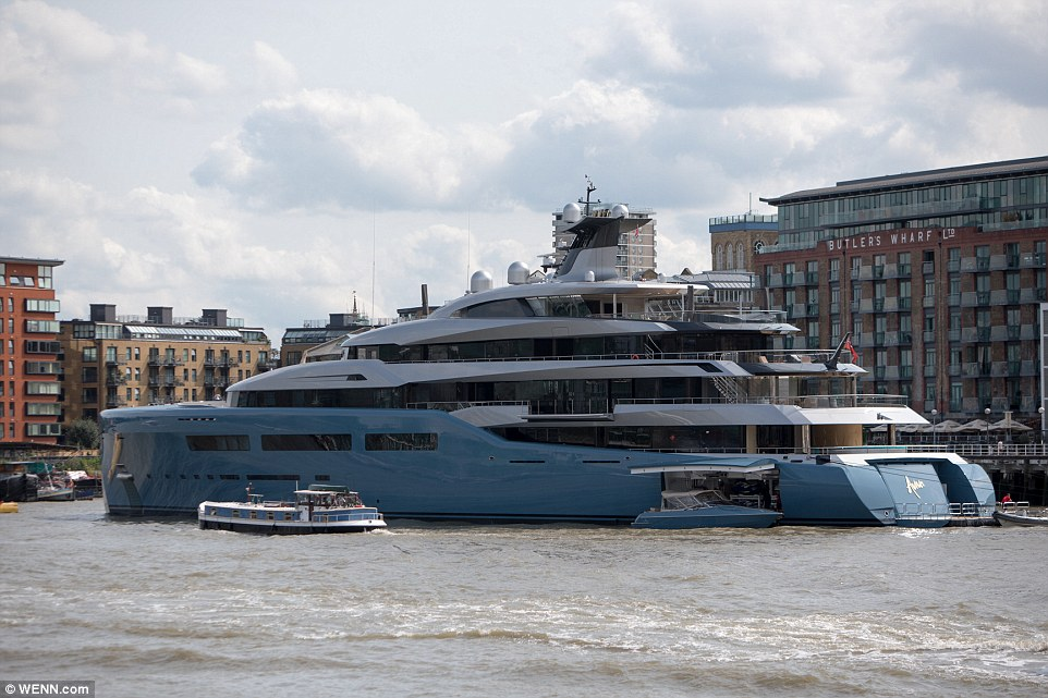 Billionaire Spurs Owners 321ft State Of The Art Super