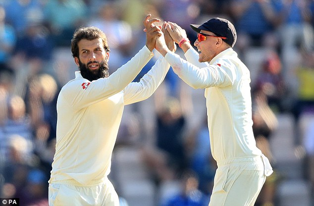 Four wickets for Moeen Ali inspired his side to a 60-run win to take an unassailable 3-1 lead