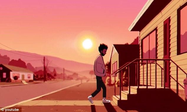 Dans les coulisses: L'artiste Justin Richburg, qui a déjà travaillé avec Bino sur Atlanta, était responsable du design du personnage tandis qu'Ivan Reece Dixon s'est occupé de l'animation étonnante