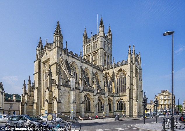 The 'amazing' discovery was made at Bath Abbey in Somerset ¿ which was initially founded in the 10th century ¿ as part of vital repair work to the Abbey's collapsing floor