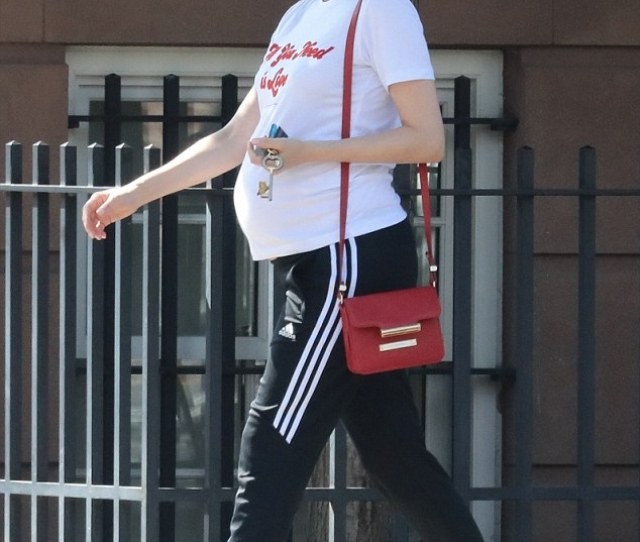 Mommy Moment Diane Kruger Was Spotted Dressed Down In A Graphic T Shirt Over