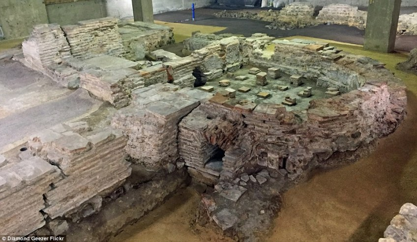 Welcome to Billingsgate Roman Bathhouse, which lies underneath some Lower Thames Street offices and is one of Roman London's most fascinating remains
