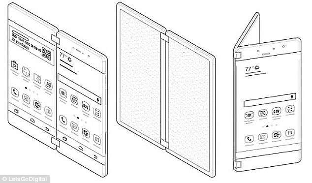 Samsung has long discussed the idea of releasing a folding phone. Its patented many folding designs, like a book-like handset that can be opened to a tablet