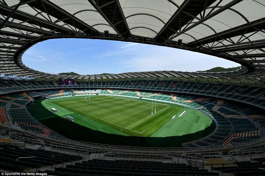 Fukuroi's Shizuoka Stadium Epoca holds 50,889 people and will hostJapan vs Ireland and South Africa vs Italy