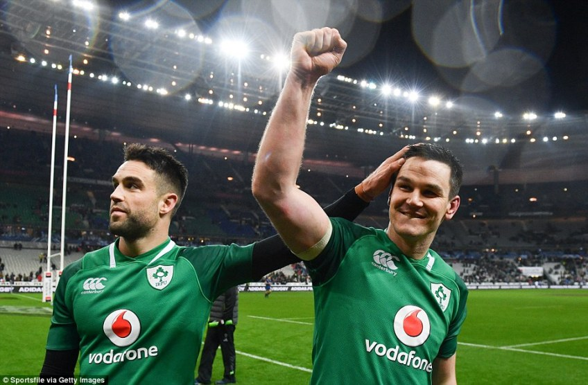 In Conor Murray (left) and Johnny Sexton (right), Ireland have a world class half-back pairing that are proven at the top level