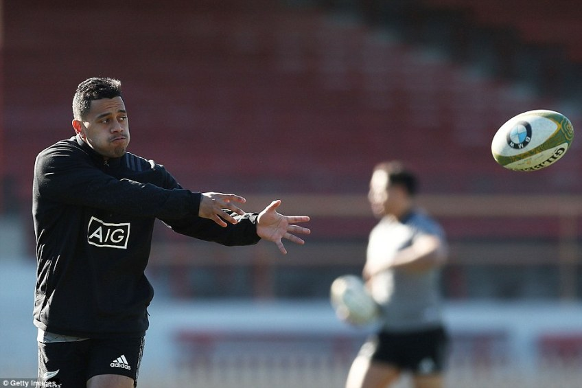 Te Toiroa Tahuriorangi is yet to make his Test bow,but the former league-playing Chiefs half-back will get his chance soon