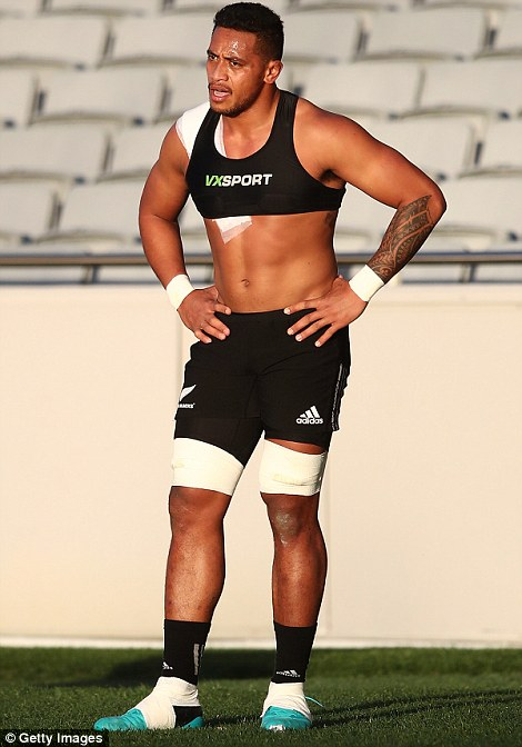 New-boy Shannon Frizell is also in contention at the moment