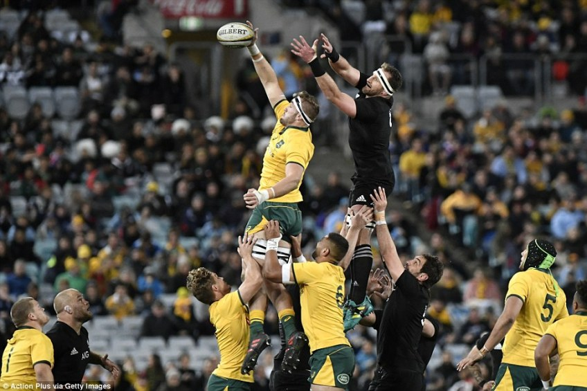 Australia completed just 60 percent of their own lineouts in the two Tests they played against New Zealand