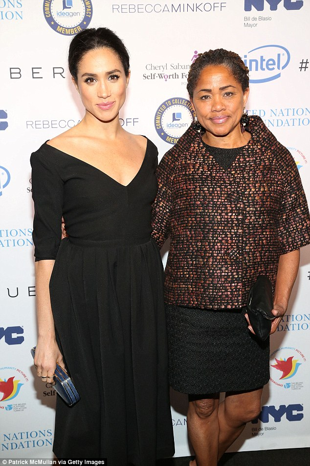 Meghan Markle and Doria Ragland attend UN Women's 20th Anniversary of the Fourth World Conference of Women