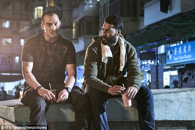 As the events surrounding Megan's death began to unfold it was clear there was more to it as Faraz Reza (right) was seen breaking into Jonas' hotel room to steal his passport and laptop - he was also the same man from the beginning of the programme