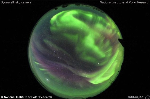 The mysterious activity sparked conspiracy theories across the internet, especially given its alignment with with this week's solar storm. A geomagnetic storm sent particles streaming toward Earth's atmosphere Sept 11