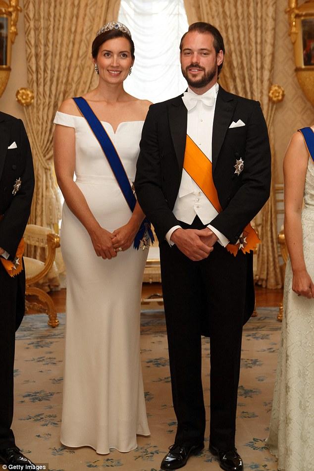 Prinzessin Claire von Luxemburg und Prinz Felix am Nationalfeiertag im Juni 2018. Das Paar zieht diesen Monat nach London um, wo beide ein Aufbaustudium aufnehmen werden