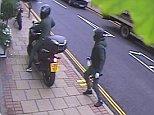 The four-strong gang targeted Michael Platt jewellers in the affluent Wimbledon Village