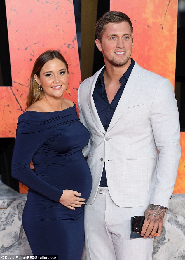 On the up: This comes as Dan seems to have reconciled with wife Jacqueline Jossa, following a period of woes where he was forced to deny having an affair