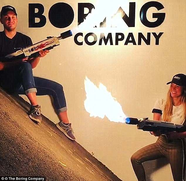 Each flamethrower, he said, comes with a free fire extinguisher and buyers had to agree to certain conditions before getting the device