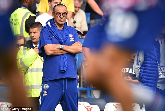 Sarri told a news conference on Friday that he is interested in the Chelsea icon joining his staff