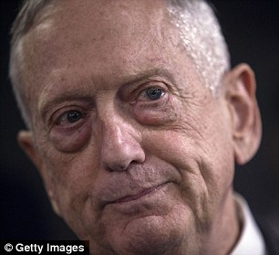 Insiders say President Trump considering replacing Defense Secretary James Mattis (pictured) with a more vocal supporter following the midterm elections