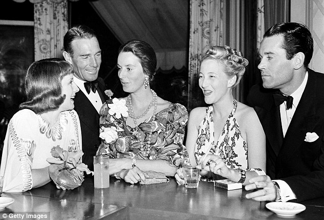While she idolized her movie star father (pictured right in 1940), he was often emotionally distant and sent Jane to boarding school a year after her mom's death