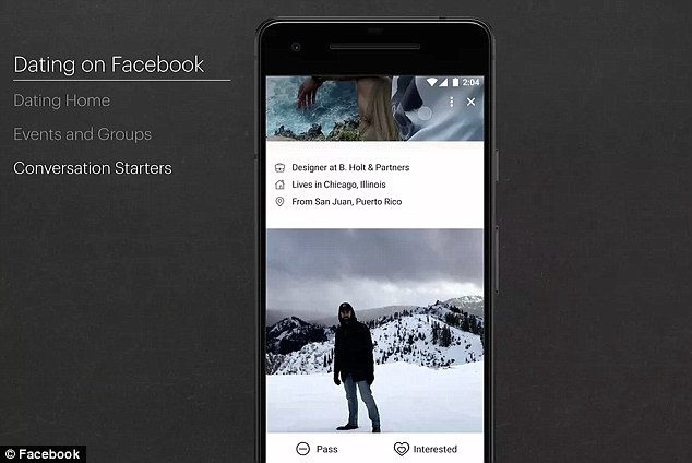 Before users can begin perusing profiles, they have to opt into Facebook Dating, which is located within the core Facebook app, not in a standalone application