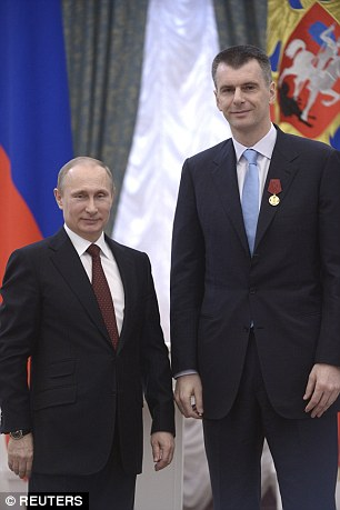 Russian President Vladimir Putin (left) had accused the United States of being involved in orchestrating the scandal and manipulating Rodchenkov. Mikhail Prokhorov (right), who owns the NBA's Brooklyn Nets, served as the president of Russia's biathlon team and is now helping biathletes who were stripped of their silver medals to sue Rodchenkov in the United States