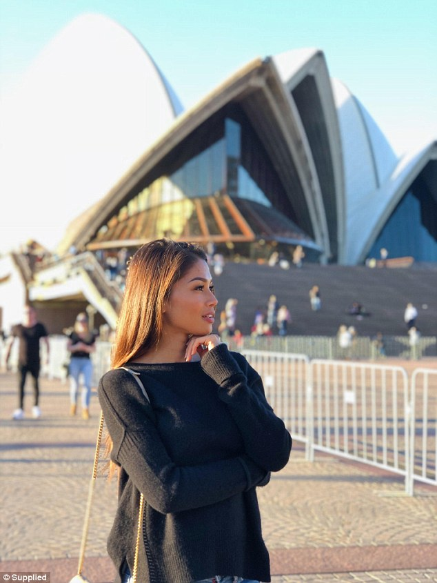 'I was already a huge UFC fan before and of UFC rings girls such as Arianny Celeste, who is such a huge superstar,' Dela Cruz said