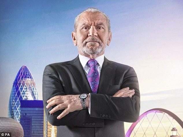Threat: Lord Sugar has said that if Jeremy Corbyn becomes Prime Minister, he will quit the UK