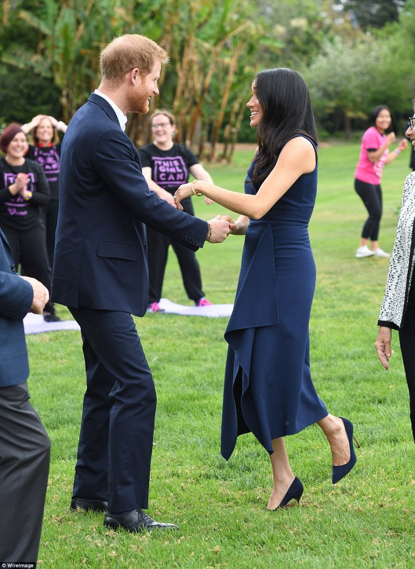 The rest of the day will hold significance for Harry and Meghan as they visit projects that align with their goals on the tour
