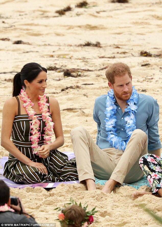 The  couple announced their first pregnancy on Monday, the same day they arrived in Australia for their royal tour