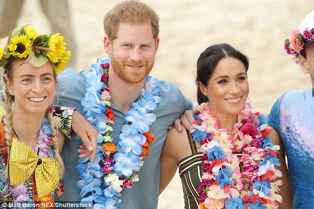 Meghan revealed she had been up at 4.30am that morning practicing yoga when she couldn't get back to sleep