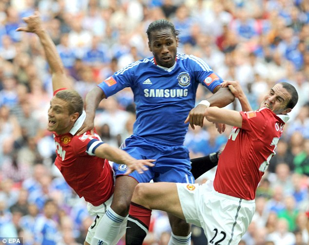 Nemanja Vidic reveals Didier Drogba was the hardest opponent he ...