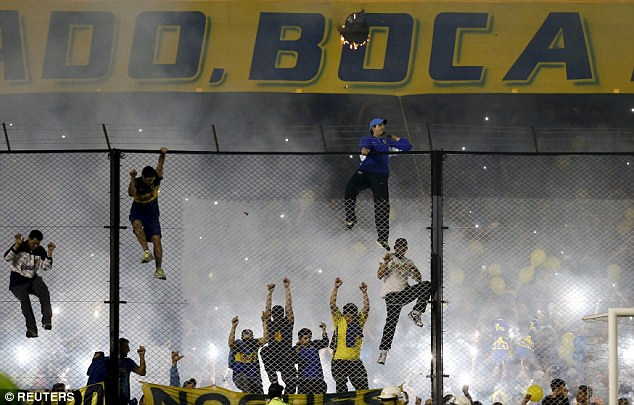 The Copa Libertadores competition is reputed to be a lively, high-octane affair