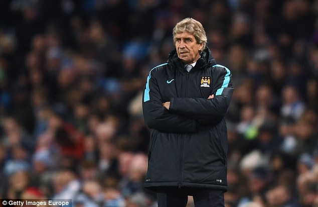 Manuel Pellegrini led City until the end of June and knew that Guardiola took control