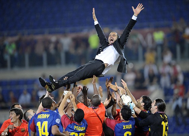 Guardiola changed football with the way Barcelona won the Champions League in 2009