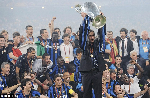 Mourinho won the Champions League a year later with Inter Milan - pragmatic