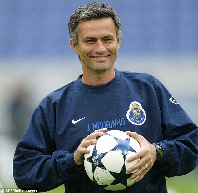 Mourinho had nine games in charge at Benfica in 2000 before a spell as a coach at Porto