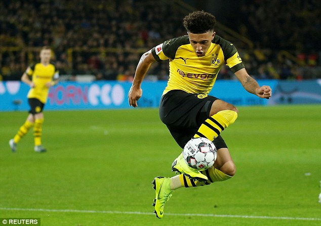 Sancho has become a major player in a match that is trying to wrestle the league title of Bayern Munich