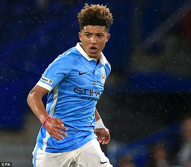 Sancho believed he would have a better chance to get away from Manchester City