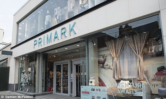 Primark sales increased by 4 percent in the past 16 weeks thanks to new store openings