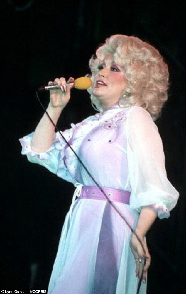 Private: Dolly and her husband have always kept a low profile, and she says she loves that she's a gay icon, but there's nothing more to it than that (pictured in 1981)