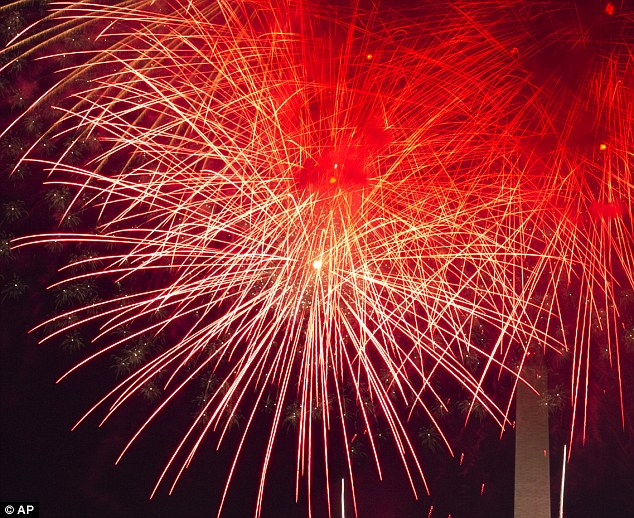 At a Bideford Town Council meeting members voted in favour of banning the display and said that a laser show would be a preferred replacement. Stock image shows fireworks