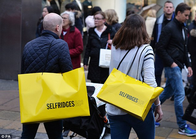 Footfall: Comparatively bright weather boosted the number of people visiting UK high streets and retail parks in March, Springboard and the BRC said