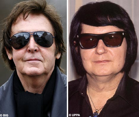 Is Sir Paul McCartney Turning Into Roy Orbison Daily