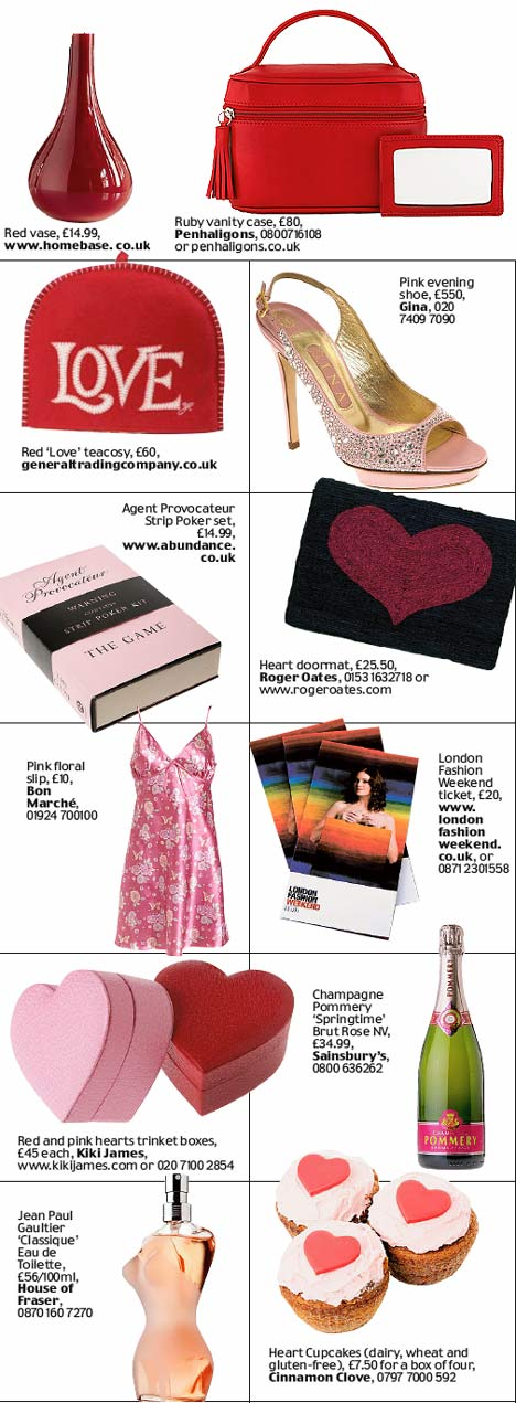 Valentines Gift Guide Presents For The One You Love No