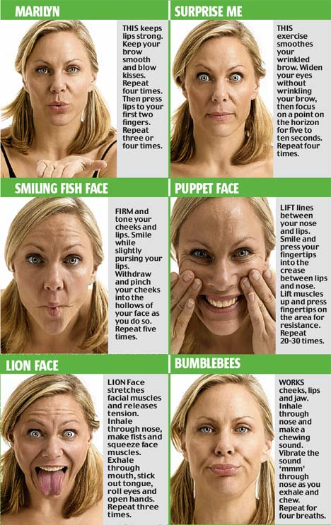 happy face yoga # 18