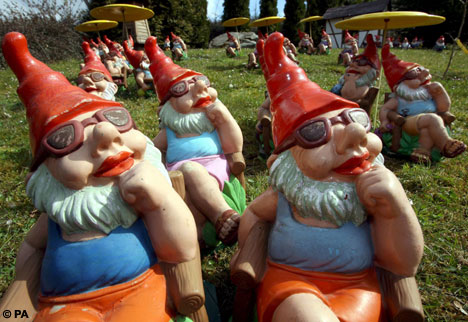 Death Of The Garden Gnome Branded Too Gnaff For Modern