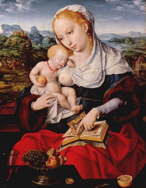 Virgin and Child, by Joovs van Cleve