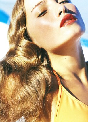 hot tips for cool hair tress to impress on the beach this summer daily mail online